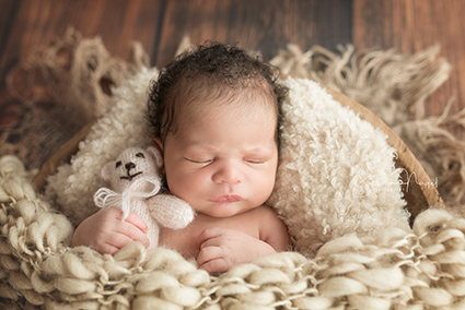 Foto für Geburtskarte