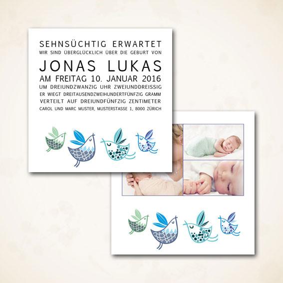Online shop für Geburtsanzeigen