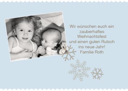 weihnachtskarte für familie