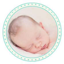 Babykarte mit Anhänger