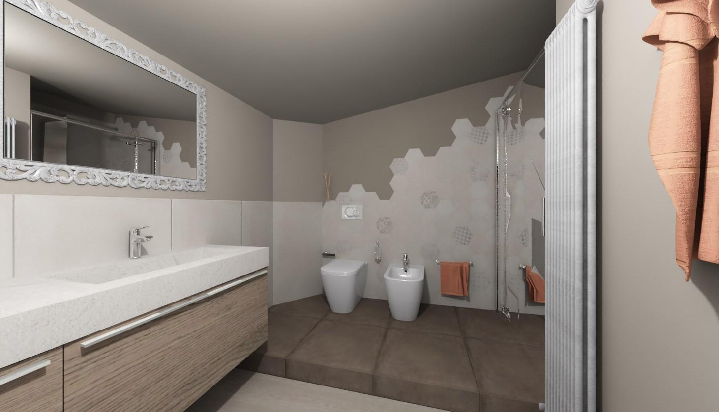 Gallery of idee bagno con venis porcelanosa catalano ideal - Bricocenter mobili bagno ...