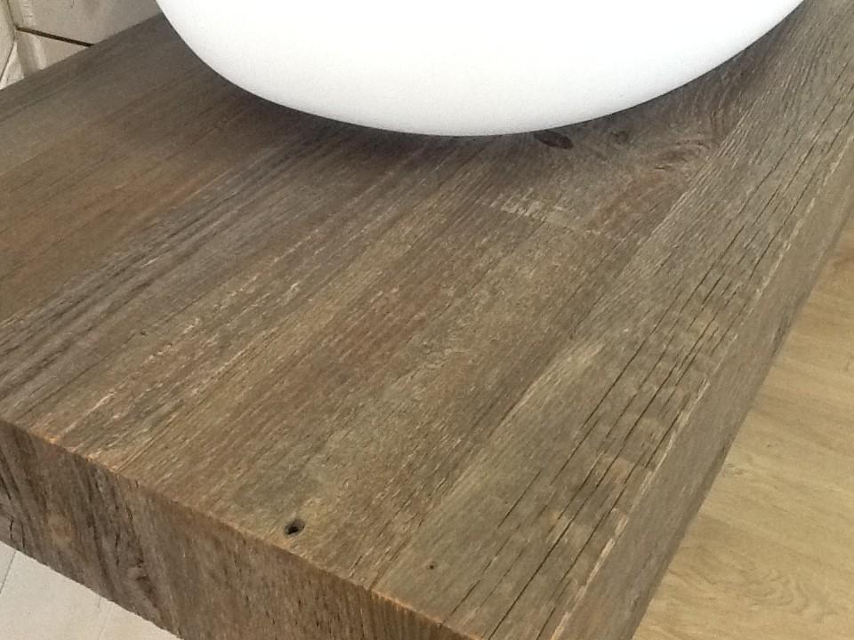 Particolare del piano Flyer in legno antico
