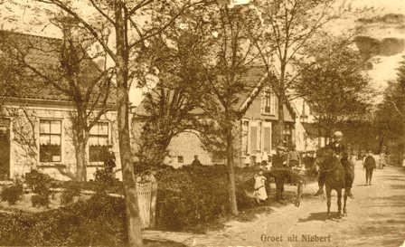 De kruidenierswinkel van Evert Posthumus in Niebert
