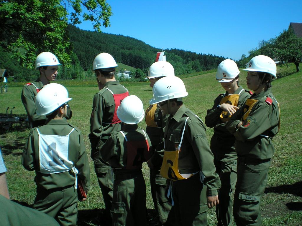 Abschnittsbewerb Mondsee in Haslau