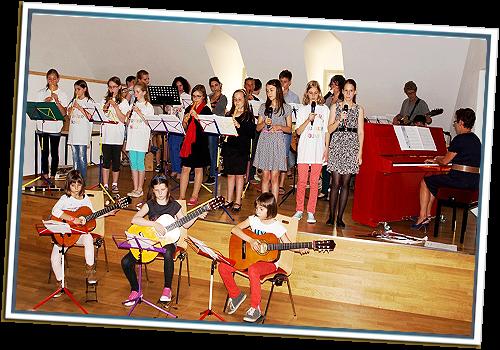 Musikschule-Ensemble 2014