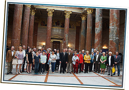 Vernissage im Parlament Wien