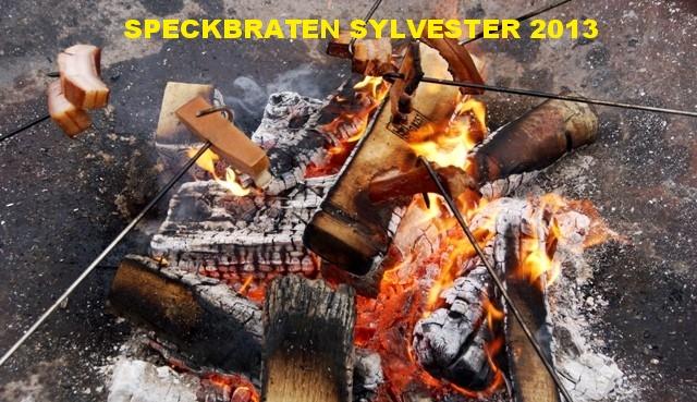 Speckbraten zu Silvester in Hornstein