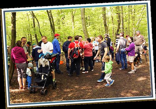 Maifeier und Wandern am 1. Mai
