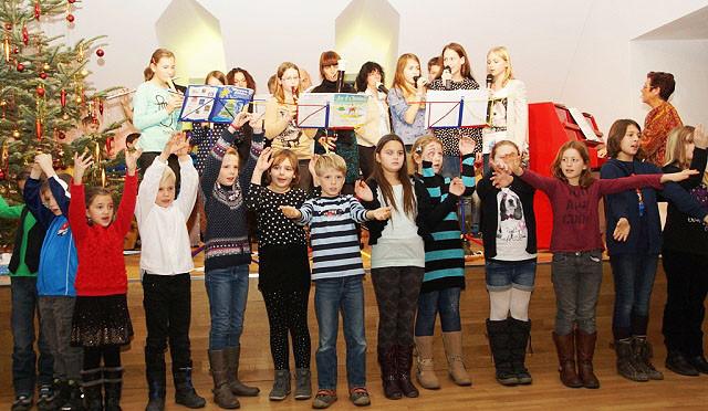 Weihnachtskonzert der Musikschule Hornstein