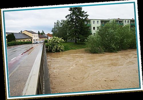 Hochwasser Leitha
