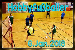 Hobbyfußballer am 6. Jänner 2018