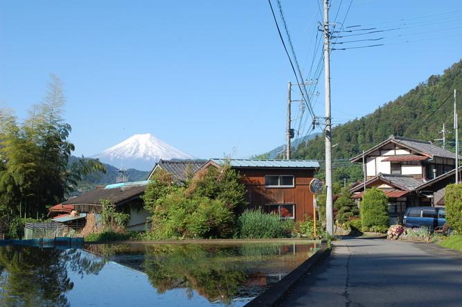 ひと目ところと富士山