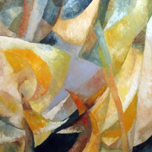 """""""Souvenir de Venise"""" huile sur toile, 100 x 80 cm,  2016. Peinture de Marc Granier."""