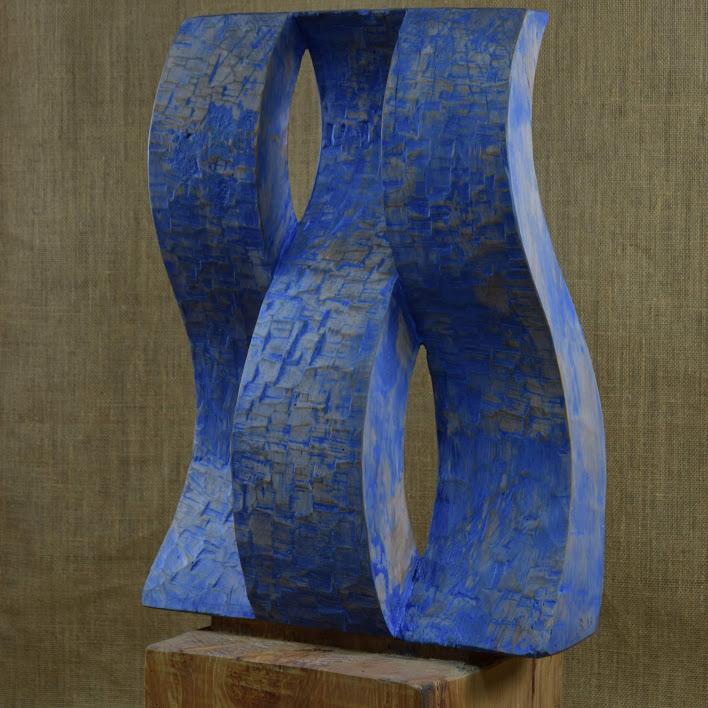 - Tilleul - h 80 cm -2018 - Sculpture de Bruno Bienfait