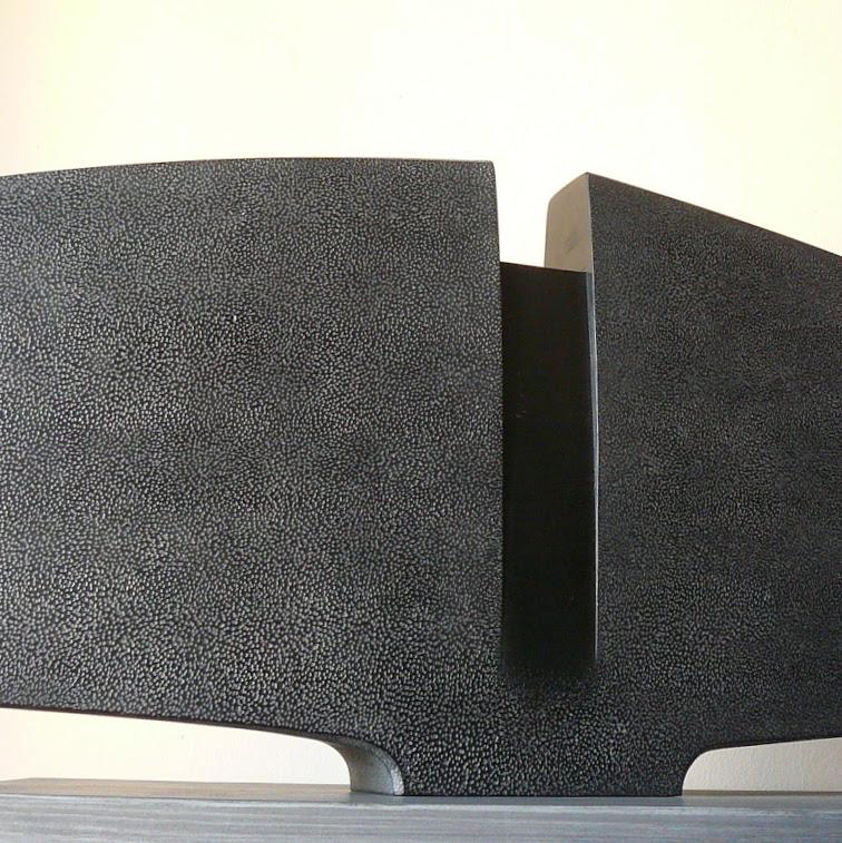 """""""Variation Torse II"""" - tilleul, pièce unique - 66 x 31 x 7 cm - 2017. Sculpture de Patrice Poutou"""
