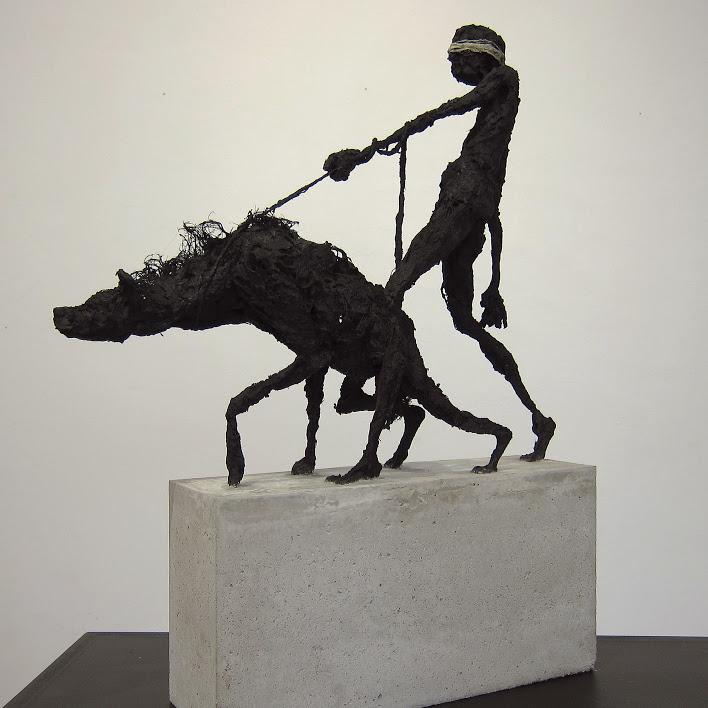 """""""Shadow 4"""" - Sculpture de Hyane"""