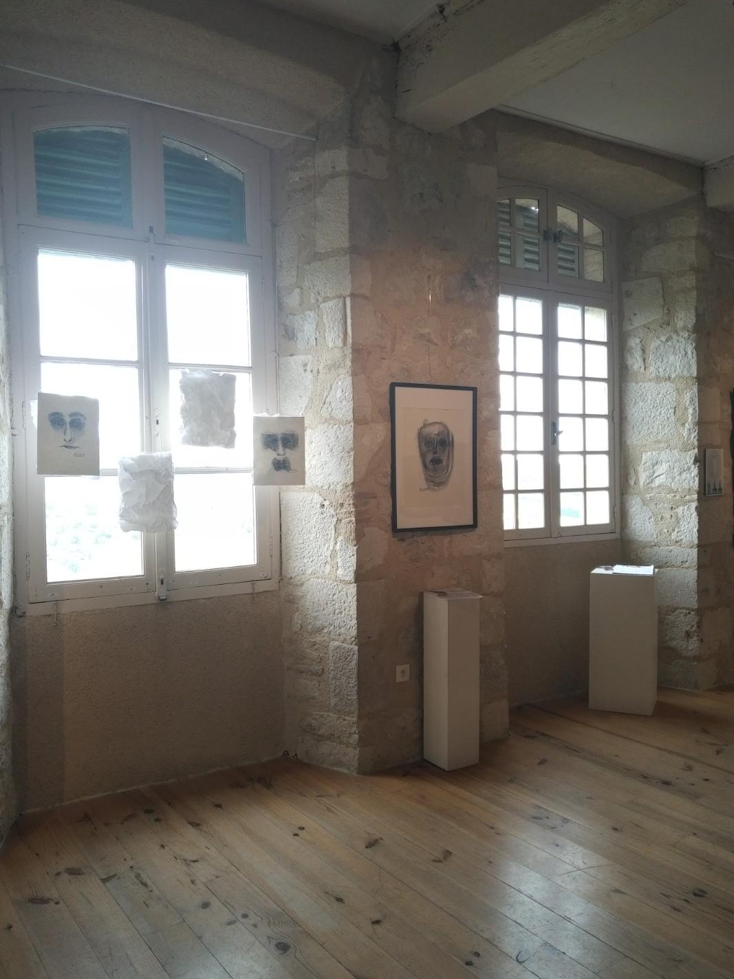 Exposition de juin 2018 Oeuvres de Delphine Alliens