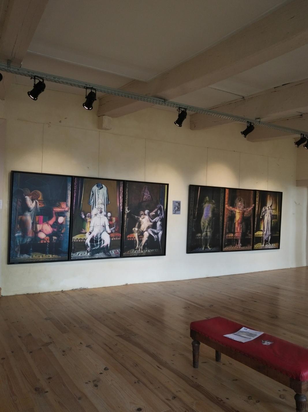 Exposition de juin 2018 Oeuvres de Joël Bardeau et et Delphine Alliens