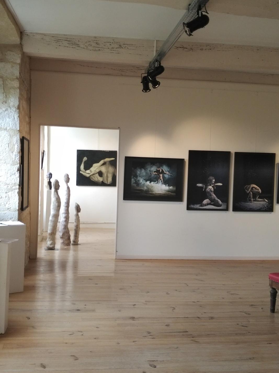 Exposition de juin 2018 Oeuvres de Joël Bardeau, Fanny Pallaro et Hazel Thaïs