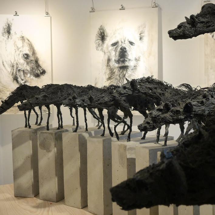 """""""Meute"""" - Sculpture de Hyane"""