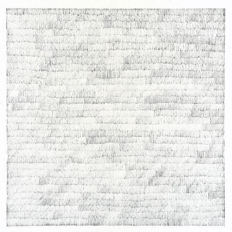 """Abstraction"" - Dessin, crayon - Oeuvre de Martine Cazin"