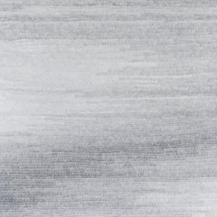 """Abstraction"" - Dessin, crayon - 20 x 20 cm - Oeuvre de Martine Cazin"