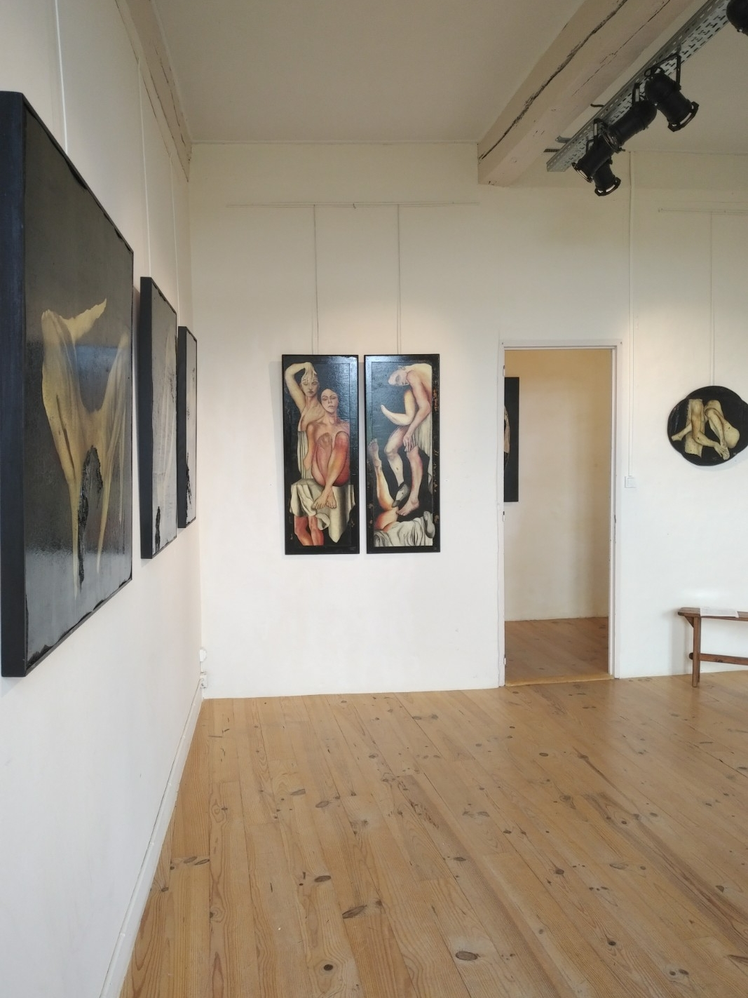 Exposition de juin 2018 Oeuvres d'Hazel Thaïs