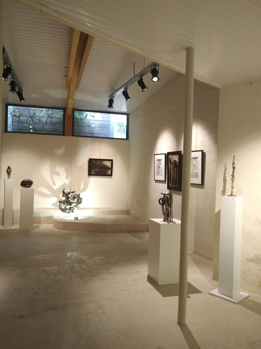 Exposition de juin 2018 Oeuvres de Vincent Turbet
