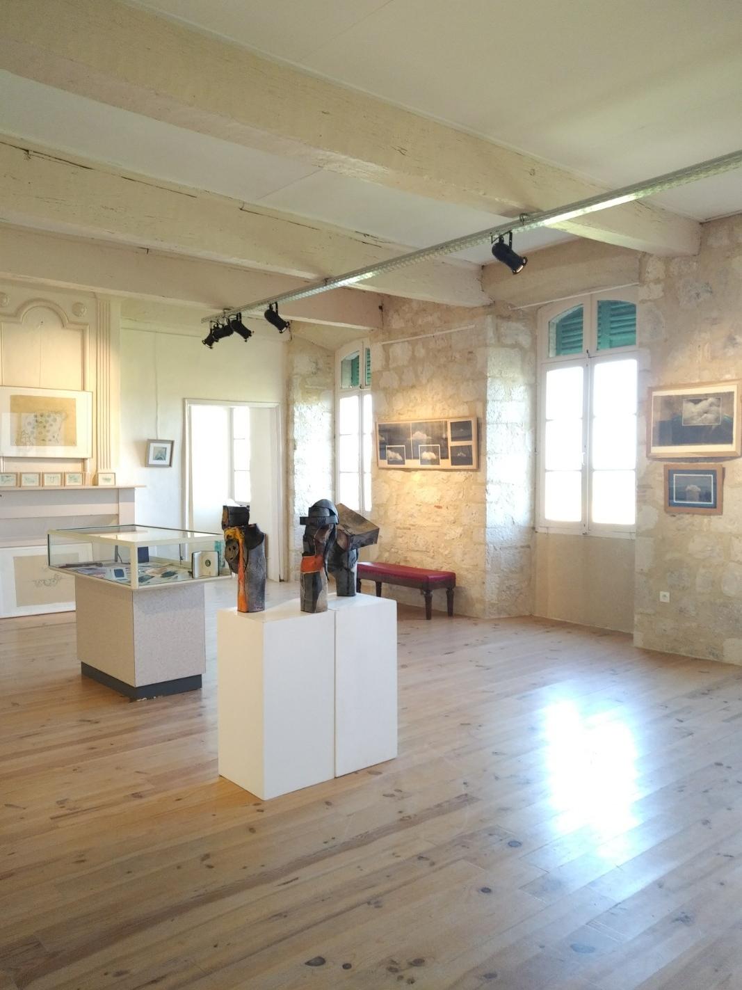 Exposition de Juillet 2018 Oeuvres de Lorena Acin et Nadine Vergues