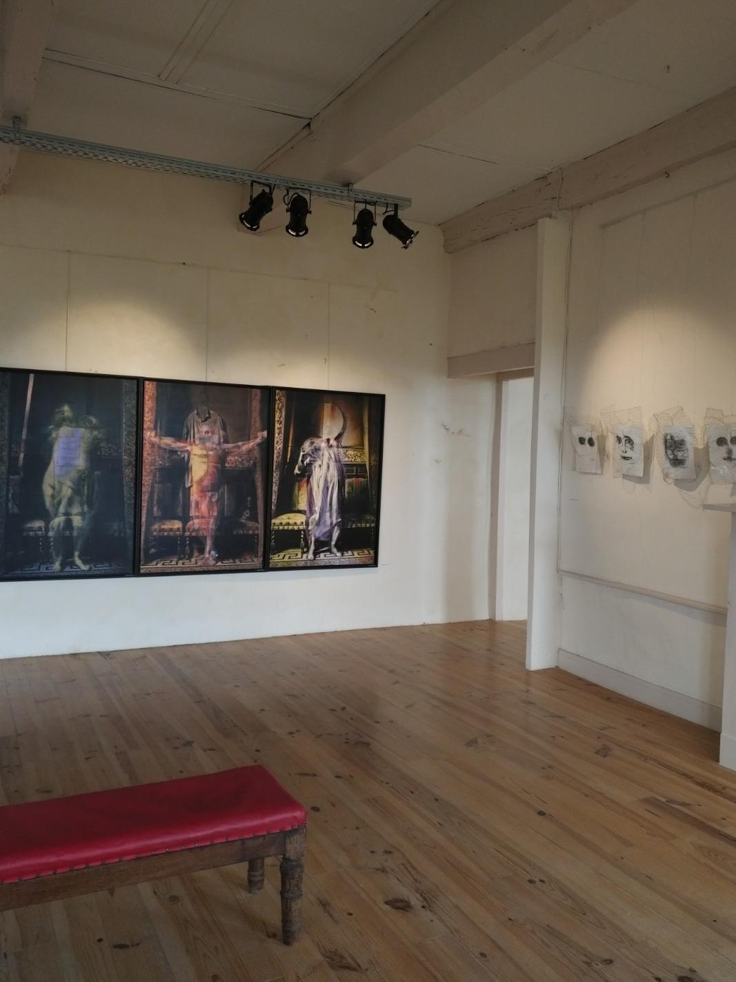 Exposition de juin 2018 Oeuvres de Joël Bardeau et Delphine Alliens