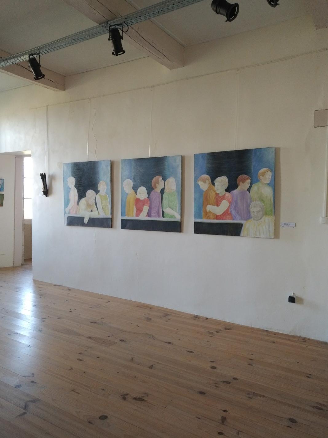 Exposition de juillet 2018 Oeuvres de Charlotte Ince