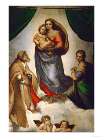 Sixstinische Madonna, The greateat Lovepresent from our God Father-God Mother for us      Bildquelle:Google