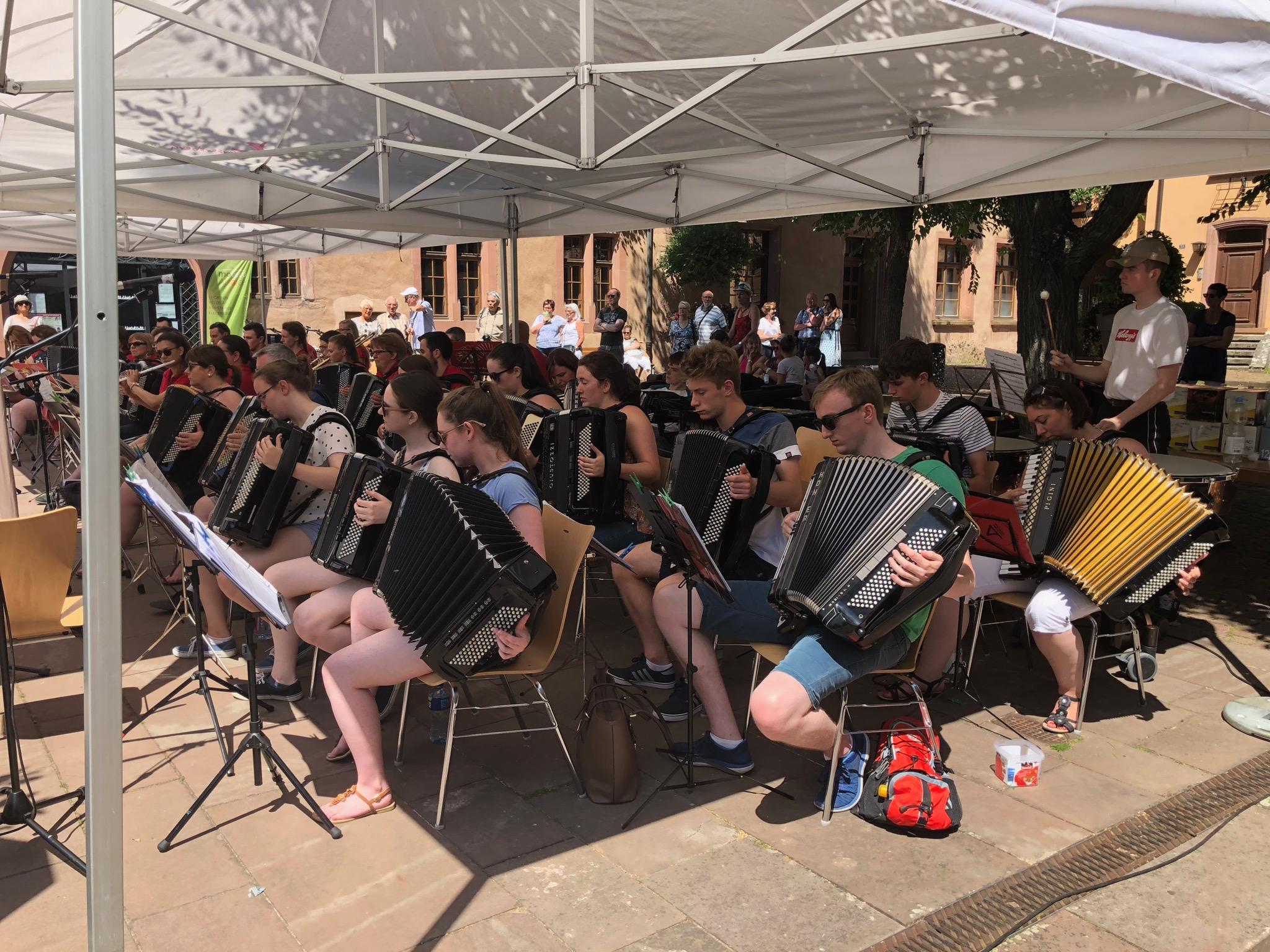 2018 - Concert avec les Irlandais à Kayserberg