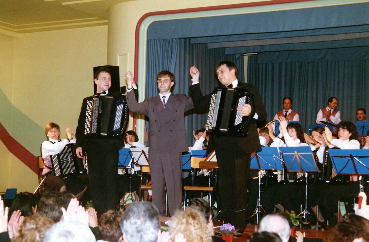 Concert avec Pavel et Alexander Dmitriev