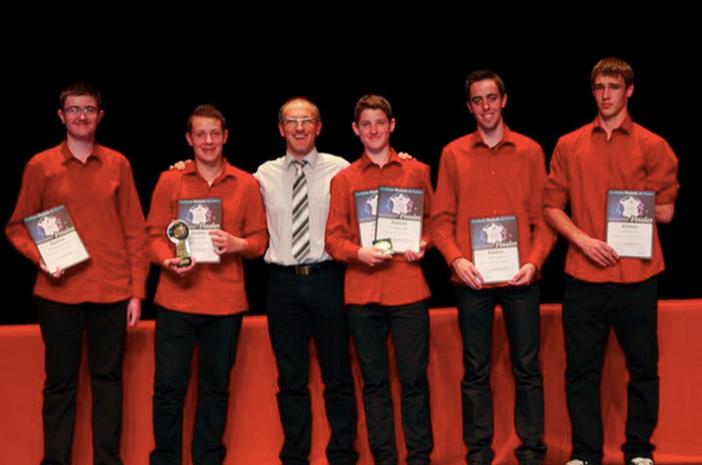 AMF 2012: Les jeunes de l'orchestre ont été récompensé lors de la finale nationale