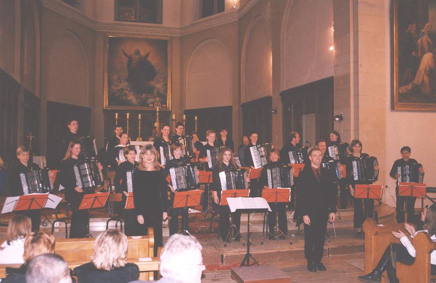 Concert à l'église de Saint Blaise