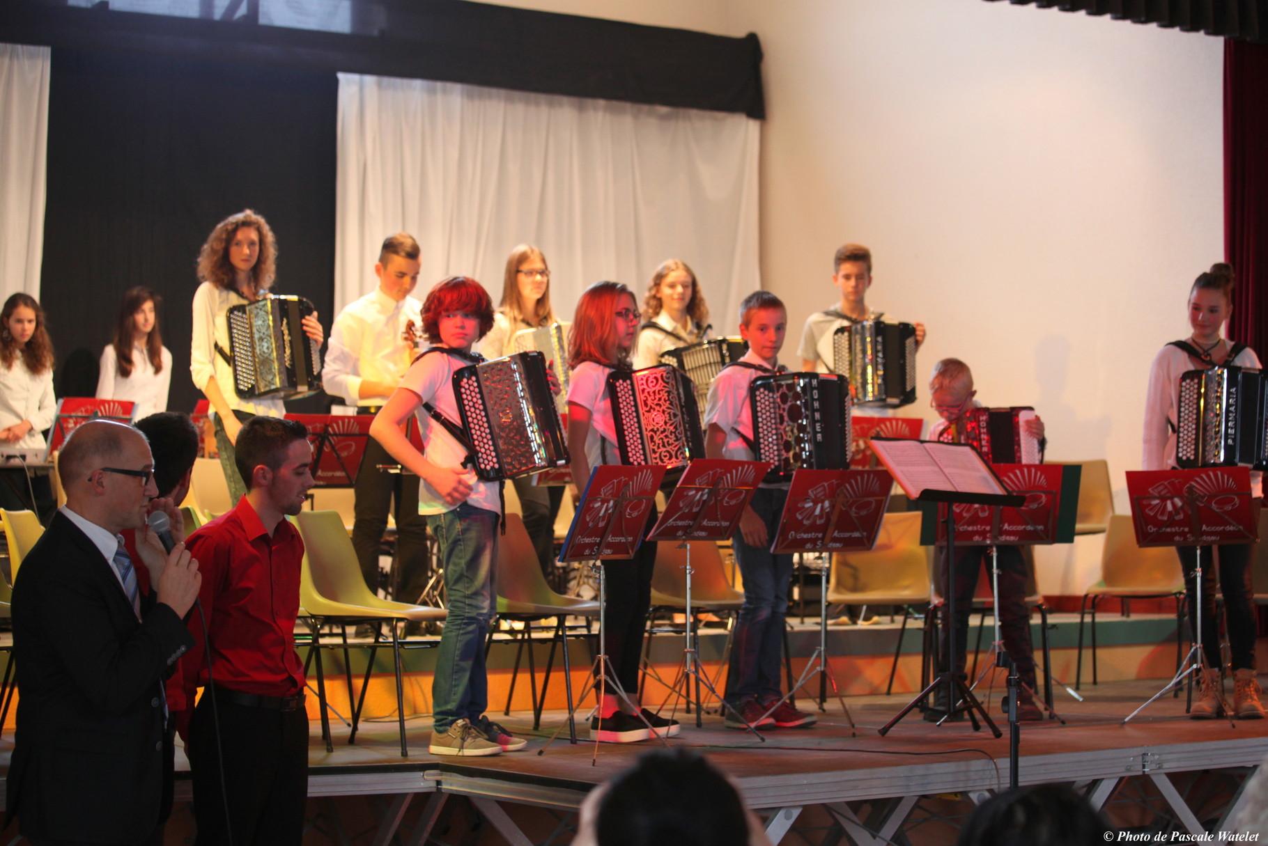 Orchestre des jeunes - Roppentzwiller 18.10.15 - Photo P.Watelet