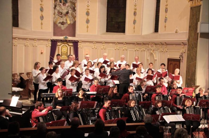 30 novembre 2014 Concert à l'église de Walscheid en Moselle