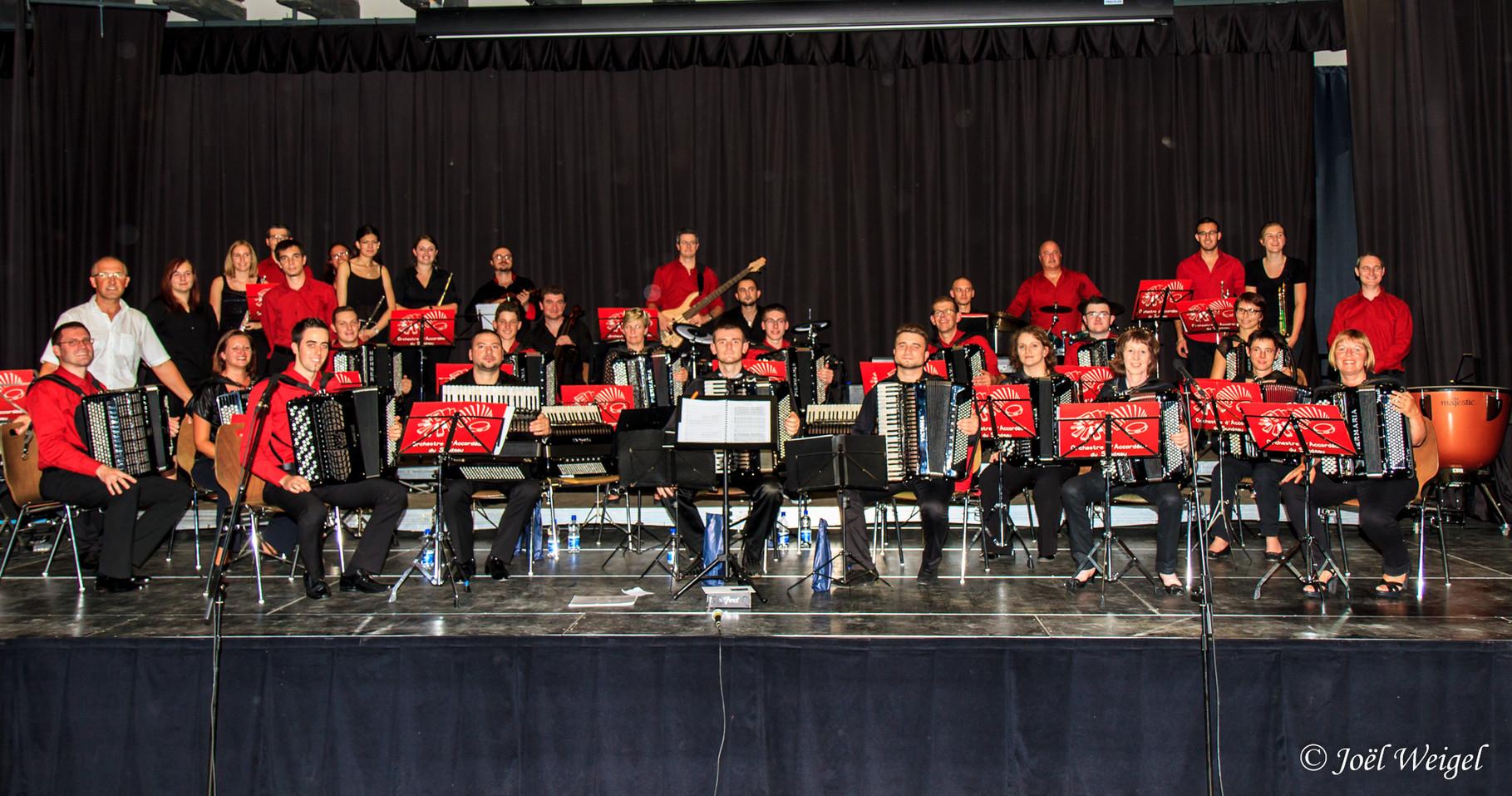 septembre 2014: Concert avec ConcertinoBand de Modavie à Altkirch