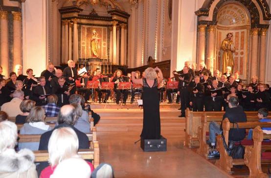 14 décembre 2014 Concert à l'église Sainte Marie à Mulhouse