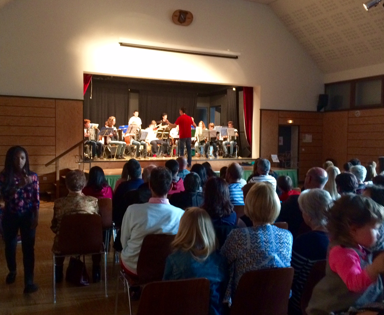 Concert commun avec l'école de musique de Ferrette