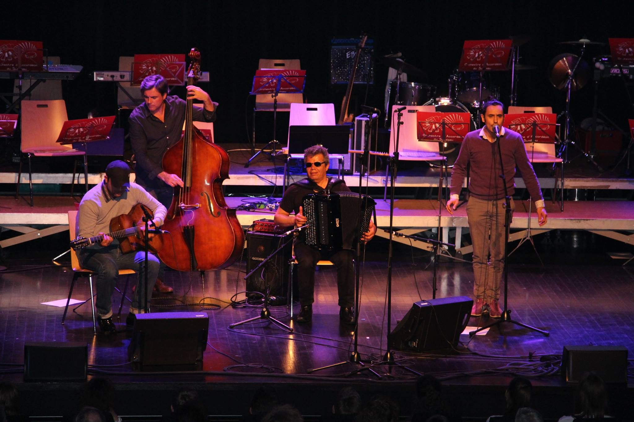 Gala  50ème anniversaire - Marcel Loeffler Trio -  La Comète - 25 mars 2017