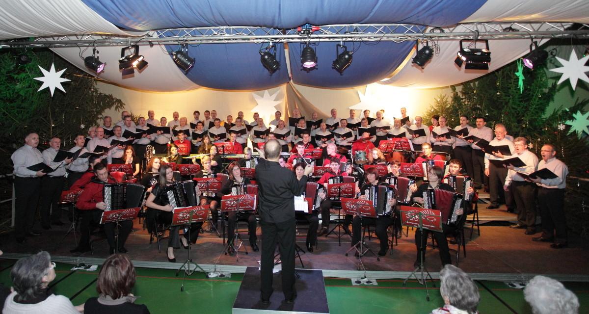 26.12.2012 avec le Choeur d'Hommes Liederkranz d'Attenschwiller