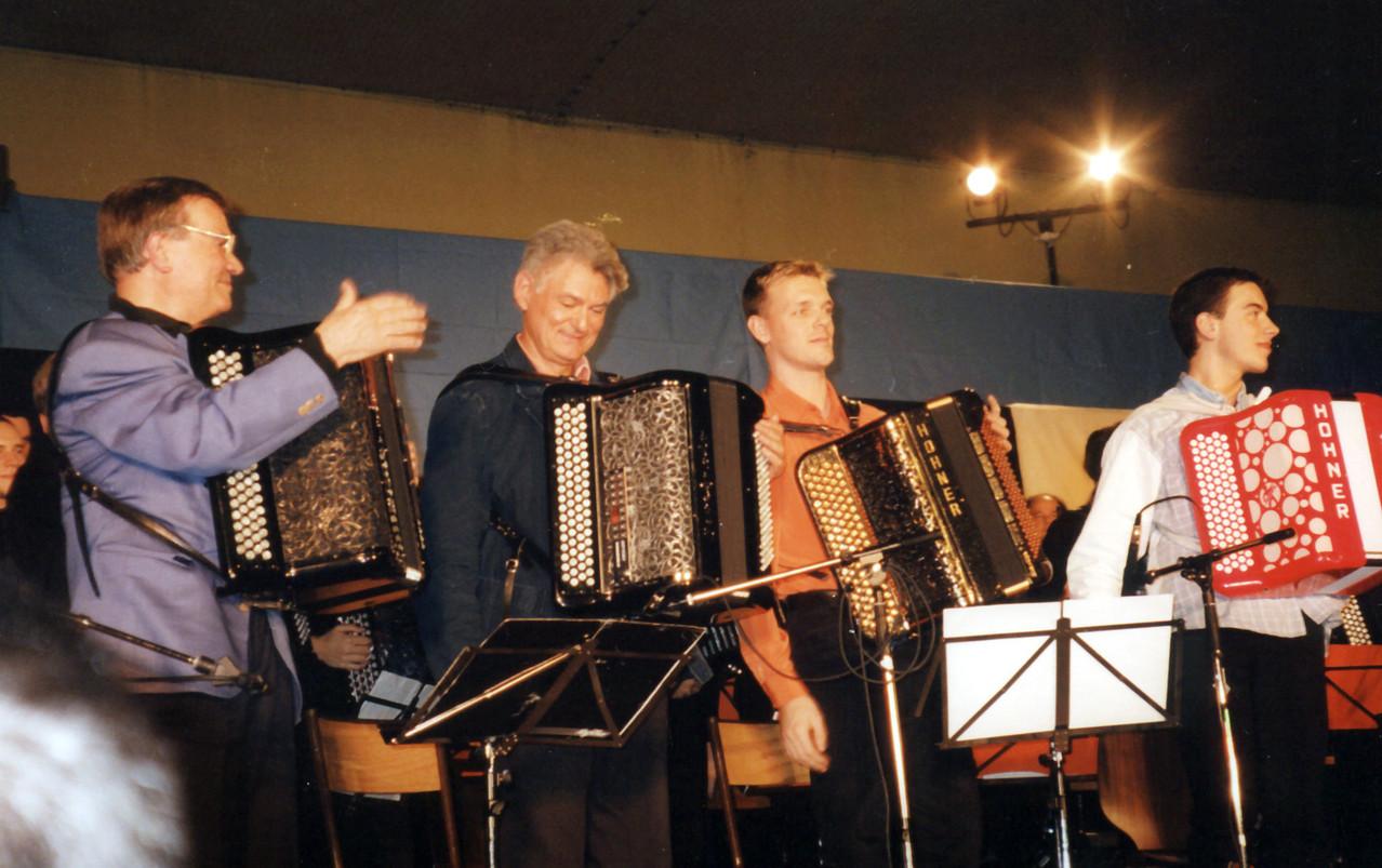 Concert avec Claude Thomain, Frederic Deschamps