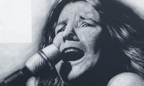 Janis Joplin, Acryl auf Leinwand, 30 x 50 cm