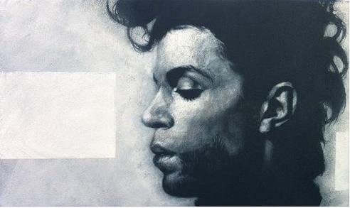 Prince, Acryl auf Leinwand, 30 x 50 cm
