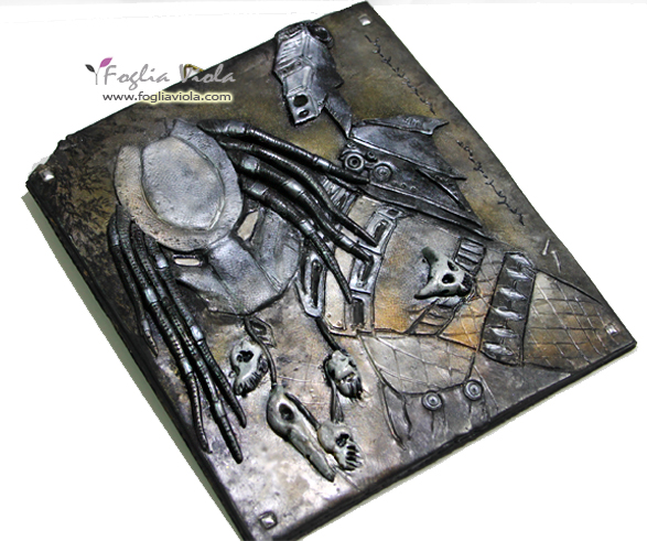 Alien vs Predator wall decor