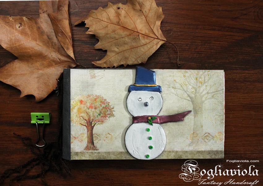 Liste di Natale con Pupazzo di Neve