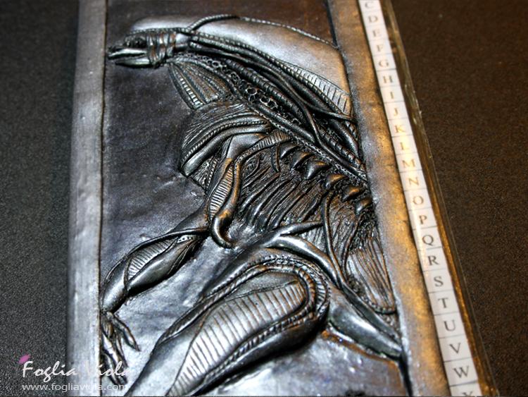 Alien handmade journal