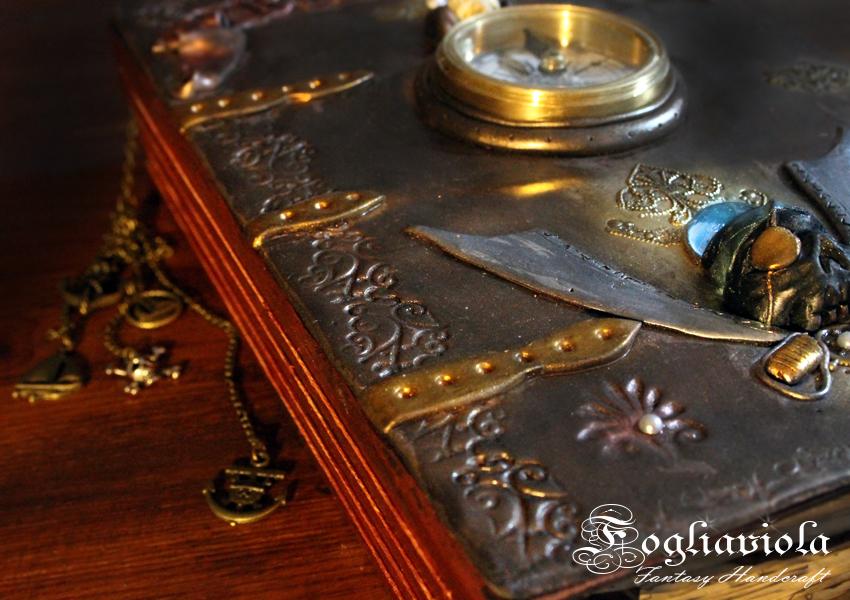 Pirate Codex fantasy journal